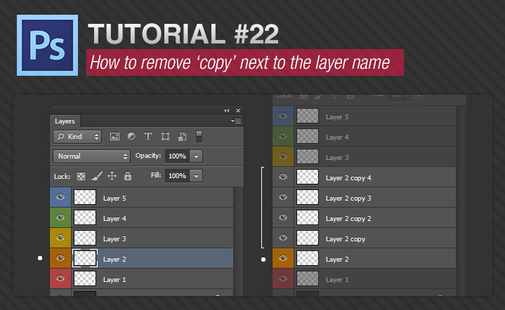 How to remove copy next to the layer name.jpg